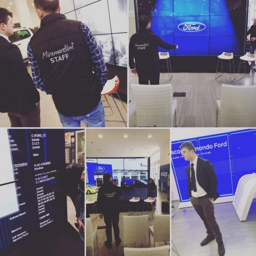 Inaugurazione Ford Store Salerno GRN - Miramarefilm