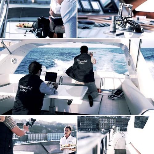 Miramarefilm At Work - Scatti Fotografici Cantiere Navale