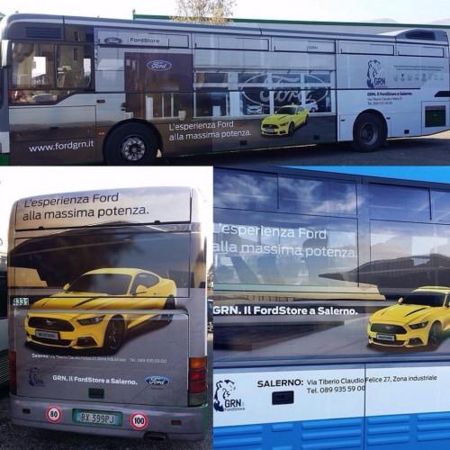 Realizzazione ADV Bus - Miramarefilm