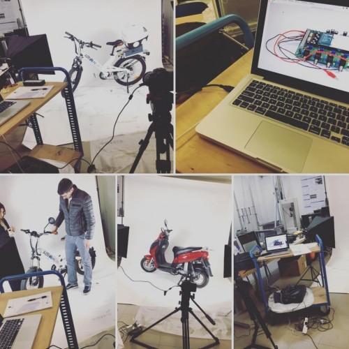 Scatti Fotografici per Scooter Elettrici - Miramarefilm